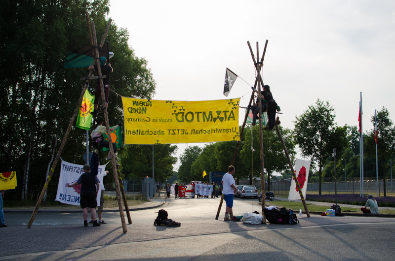 Blockade Gronau-8