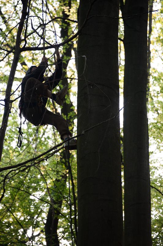 Widerbesetzung Hambacher Forst-13